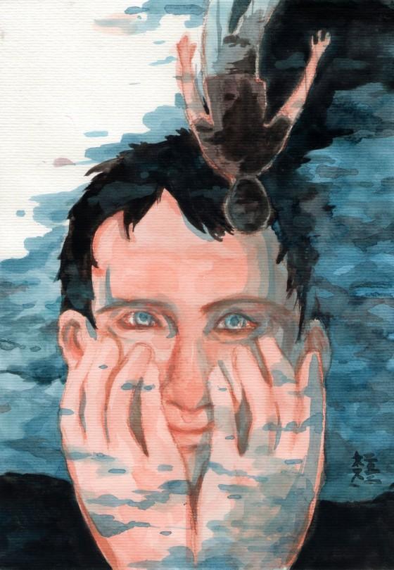 Sea Wall starring Andrew Scott by luckynesu on deviantart.com